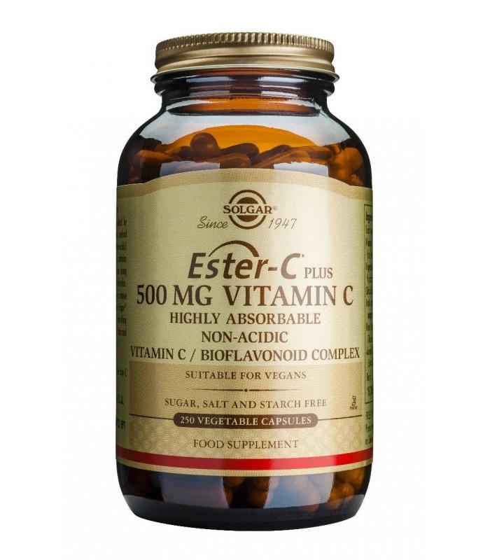 Solgar Ester-C Plus 500 Mg 50 Comprimidos