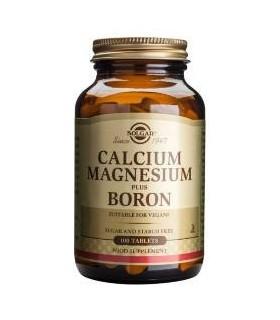 Solgar Calcio/Magnesio Plus Boron 100 Comprimidos