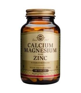 Solgar Calcio/Magnesio Plus Zinc 100 Comprimidos