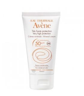 Avene Crema Spf 50+ Muy Alta Proteccion Pantalla Fisica 100 Ml