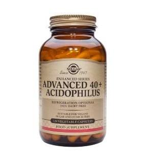 Solgar Acidophilus 40 Plus Avanzado No Lacteo 60 Capsulas