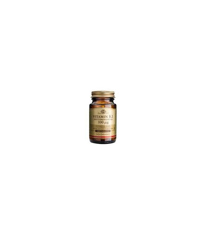 Solgar Vitamin K1 100 Comprimidos
