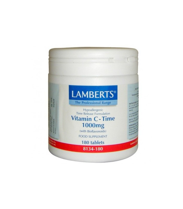 Lamberts Vitamina C 1000 Mg 180 Cápsulas