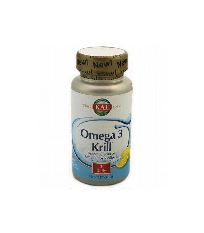 Solaray Omega 3 Krill 60 Capsulas