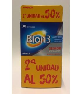 BION3 SENIOR 30 COMPRIMIDOS + 2ª UNIDAD AL 50%