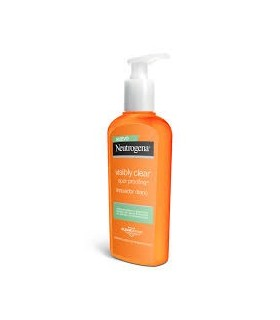 NEUTROGENA VISIBLY CLEAR SPOT PROOFING LIMPIADOR 200 ML