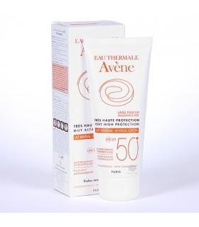 Avene SPF 50+ Leche Pantalla Fisica 100 Ml