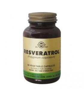 Solgar Resveratrol 60 Capsulas Vegetales