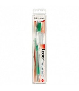 LACER CEPILLO DENTAL TECHNIC EXTRA SUAVE 1 UD