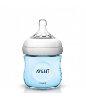 BIBERON PP NATURAL AVENT PHILIPS AZUL 125 ML