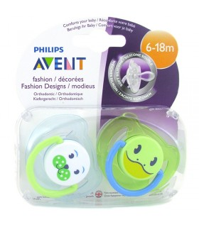 AVENT CHUPETES SOOTHERS FASHION 6-18 MESES