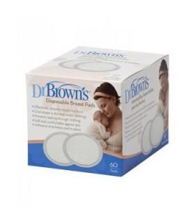 Dr Brown Discos Absorbentes Lactancia Desechables