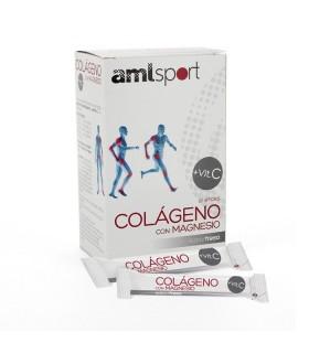Amlsport Colageno Con Magnesio + Vit C 20 Unidades