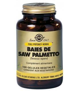 SOLGAR SAW PALMETTO (SERENOA REPENS)100 COMPRIMIDOS
