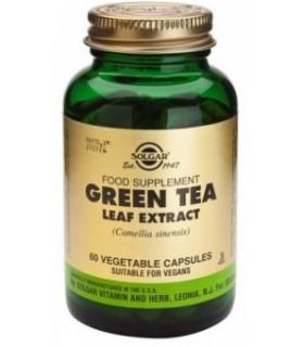 SOLGAR GREEN TEA 60 CAPSULAS