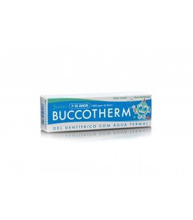 BUCCOTHERM JUNIOR GEL DENTRIFICO 7-12 AÑOS 50 ML