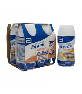 ENSURE NUTRIVIGOR BOTELLA 4 BOTELLA 220 ML VAINILLA