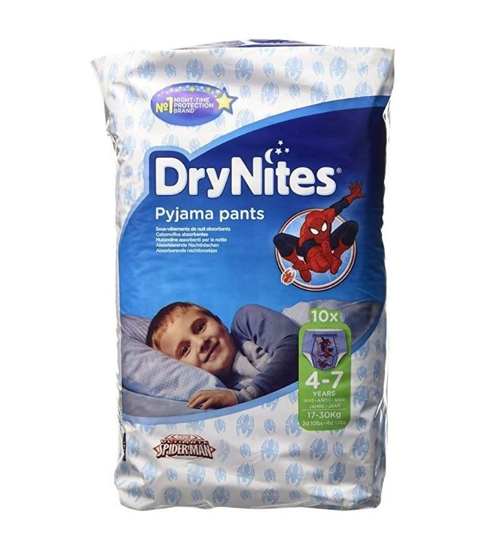 Drynites Pyjama Pants Niño 4-7 Años (17-30Kg) 10 Unidades
