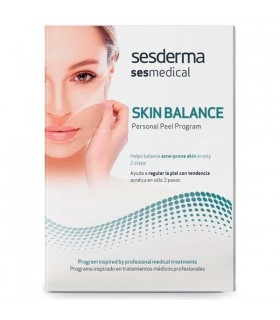 Sesderma Skin Balance Person Peel Program 4 X 4 ML + Crema 15 ML