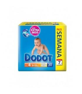Pañal Infantil Dodot Pack Semanal T- 4