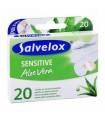 Tiritas Salvelox Sensitive Aloe Vera 20 U