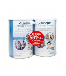 Vitanatur Collagen Antiox Plus Duplo 2ª Unidad 50% Dto
