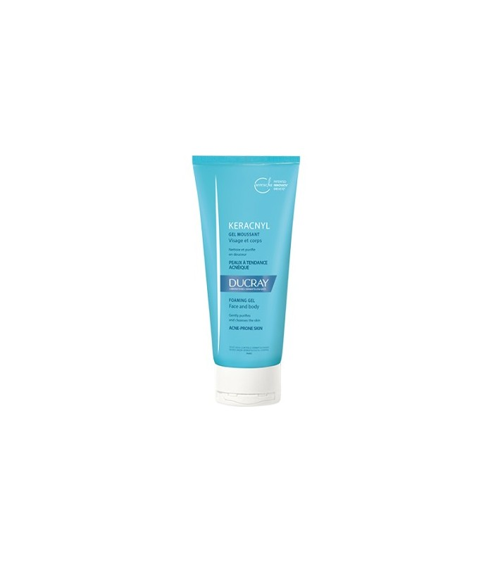 Ducray Keracnyl Gel Limpiador Acne-Prone Skin 100 Ml