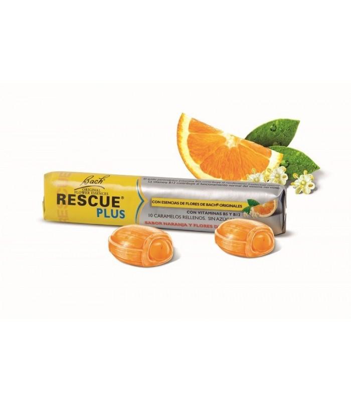 Rescue Remedy Bach Pastillas De Naranja