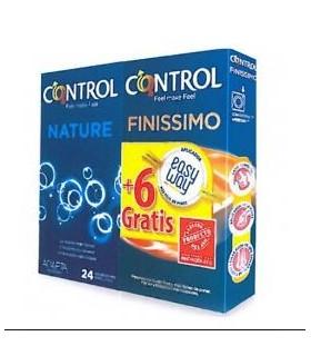 Control Nature 24 U + 6 Finissimo Gratis