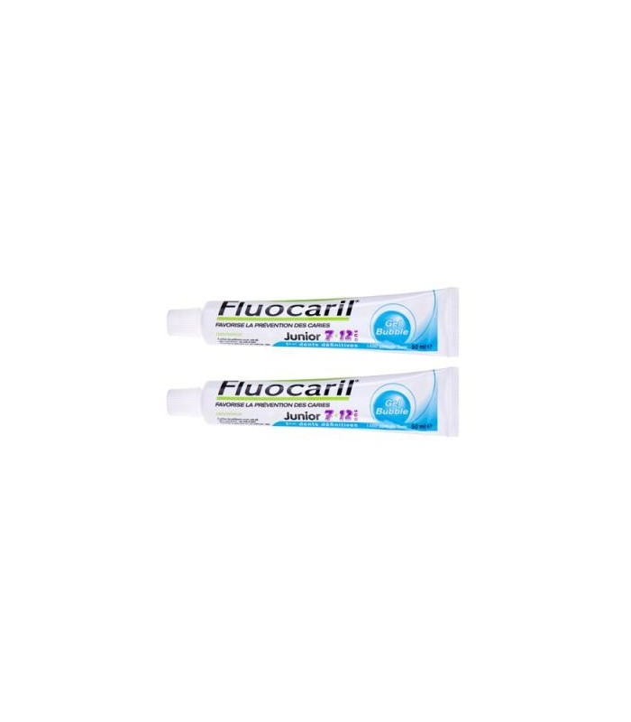Fluocaril Junior Gel Bubble 2 X 75 Ml