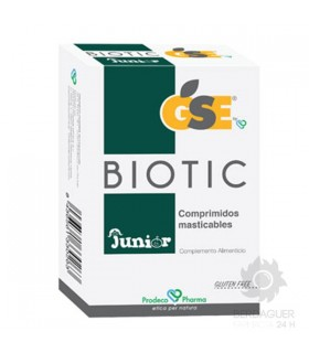GSE Biotic Junior Comp Masticables 24 Comprimidos