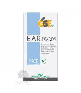 GSE Ear Drops Free 10 Pipetas