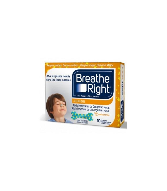 Breath Right Junior 10 Tiras