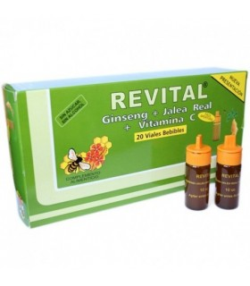Revital Ginseng + Jalea Real + Vitamina C
