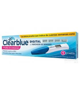 Clearblue Test De Embarazo Digital 1 Unidad