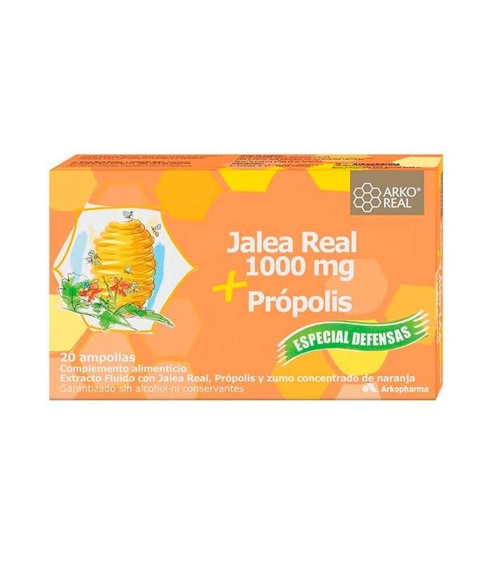 Jalea Real + Propolis 20 Ampollas