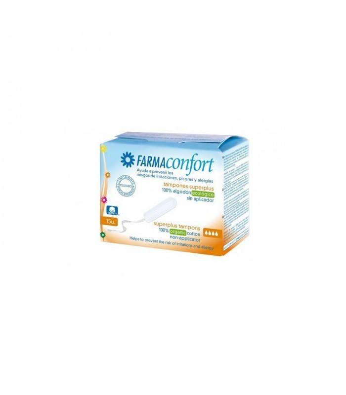 Farmaconfort Tampones Digital Algodon Super Plus 15 U