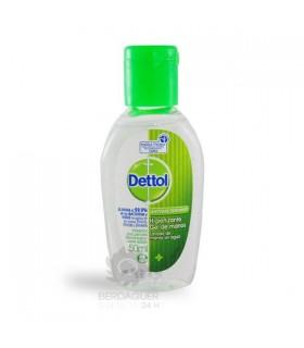 Dettol Higienizante Gel De Manos Antibacteriano 50 Ml