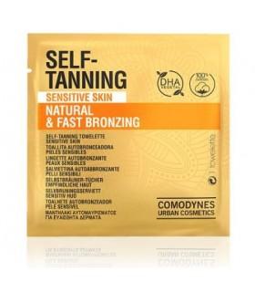 Comodynes Self Tanning Toallitas Autobronceadoras Piel Sensible 8 Uds