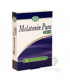 Melatonin Pura 1,9 Mg 60 Microtabletas
