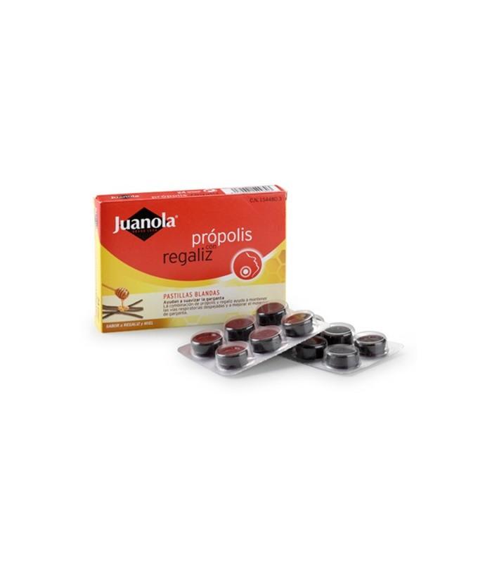 Juanola Propolis + Regaliz Pastillas Blandas 48 Unidades