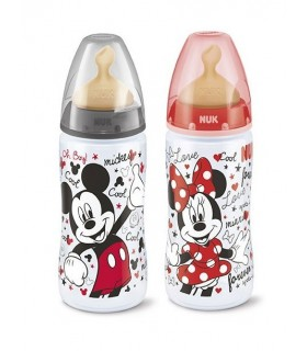 Nuk Biberon Pp Latex Disney 0-6 M 300 Ml