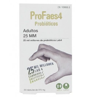 Profaes4 Probiotico Adultos 25 Mm 30 Comp