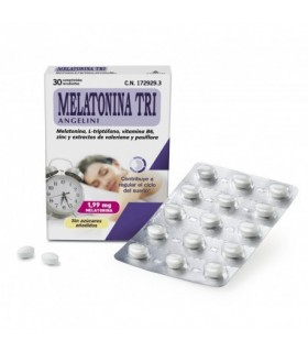 Angelini Melatonina Tri 1.99 Mg 30 Comprimidos