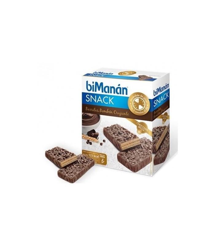 Bimanan Snack Barritas Bombón Crujiente 100 GR