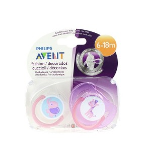 Avent Philips Chupete Silicona 6-18 Meses