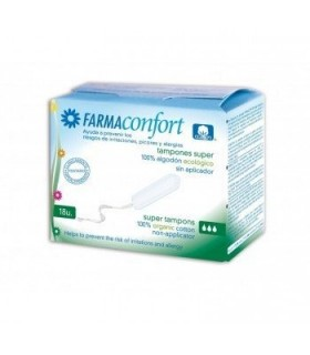 Farmaconfort Tampones Digital Algodon Super 18 U