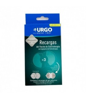 URGO PARCHE DE ELECTROTERAPIA 3 REGARGAS DE GEL