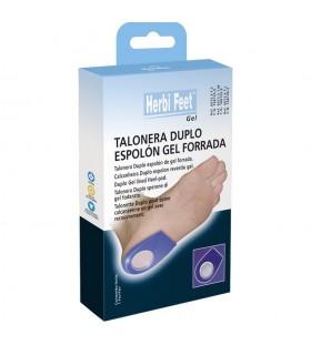 Herbi Feet Talonera Espolon de Gel Forrada Talla S 1 Par