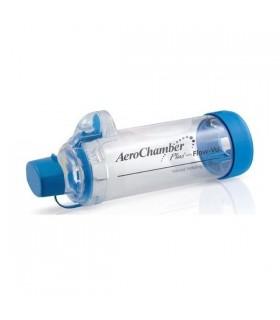 Aerochamber Cámara Inhalación Azul Para +5 Años